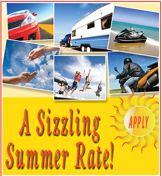 Apply for a sizzling summer rate